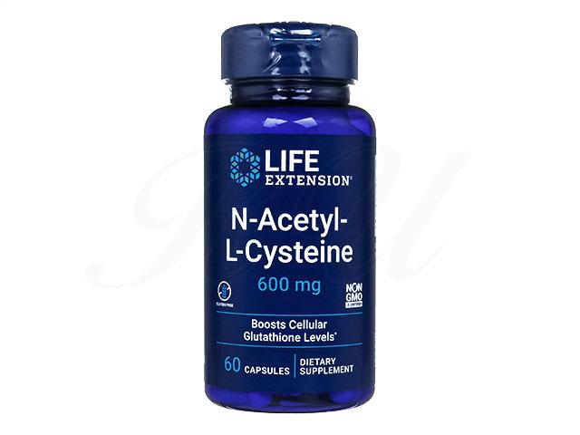 (LE)NアセチルLシステイン(N-Acetyl-L-Cysteine)600mg
