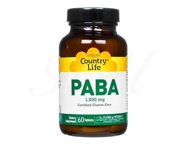 PABA1000mg 【カントリーライフ社製】