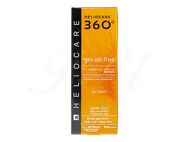[ヘリオケア360]ジェルオイルフリー(GelOil-Free)SPF50