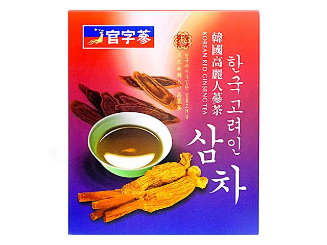 [官字参(かんじさん)]韓国高麗人参茶