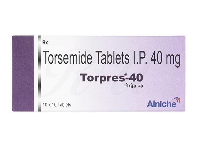 トラセミド40mg(Torpres)